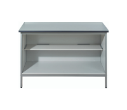 Mailroom Desk/Bench - Open Cupboard