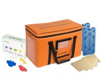 Medium Insulated Medicine Carrier Thermal Bundle - Vaccines