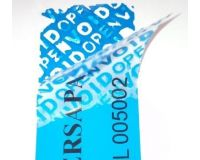 Large Tamper Evident Void Labels - Container/Door Labels
