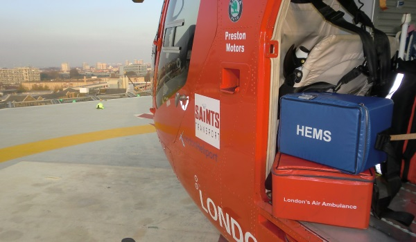 Keeping London's Air Ambulance  equipped to save lives
