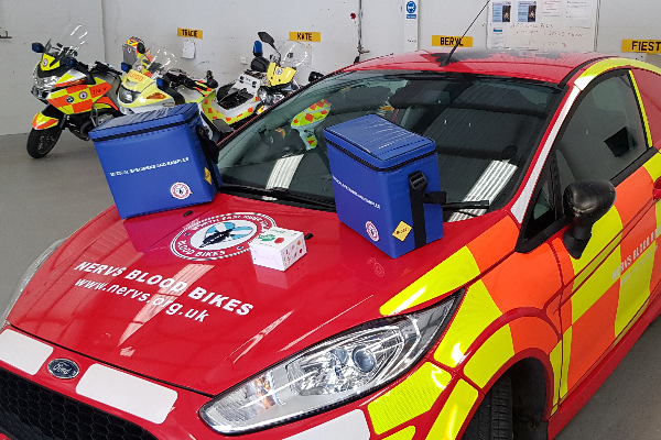 Versapak Donates Medical Carriers to Scottish Charity 'NERVS'