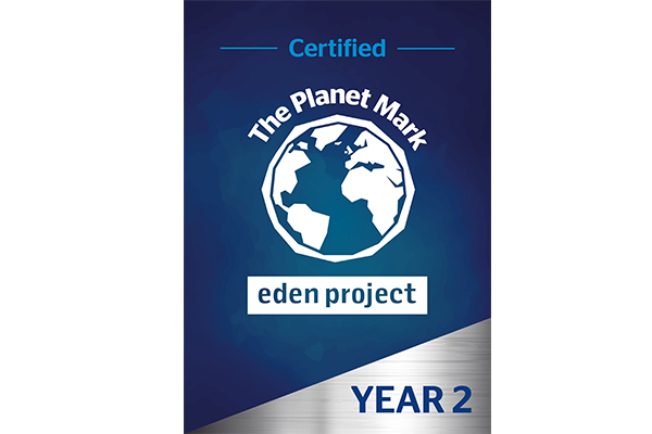 Versapak is awarded The Planet Mark Certification for a second year!