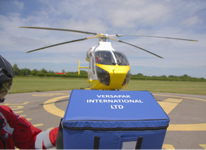 UK Air Ambulance Services recycles used postage stamps to raise charity money