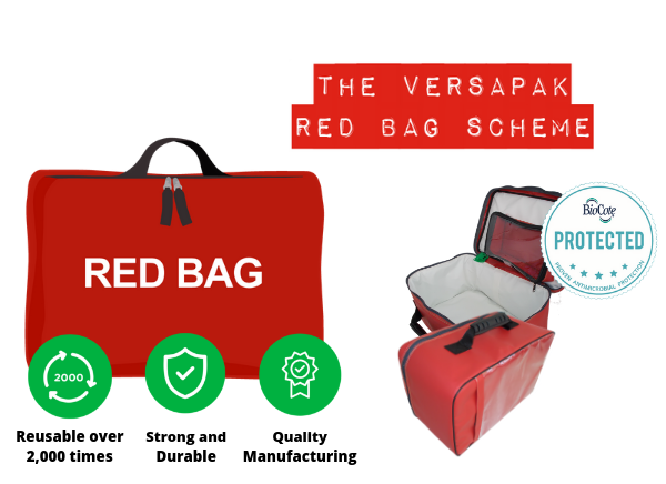 The Versapak Red bag