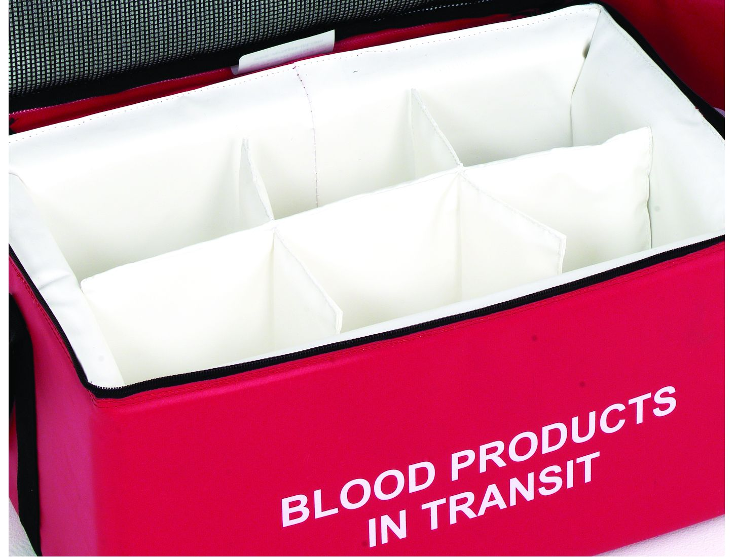 Padded Dividers 6 Compartments - Small Blood Bags