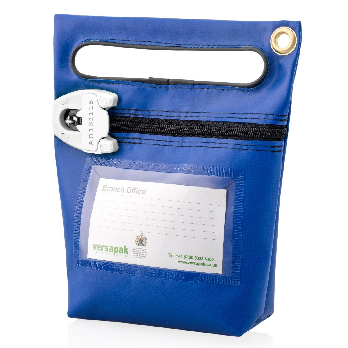 Small Secure Cash Bag - Carry Handle