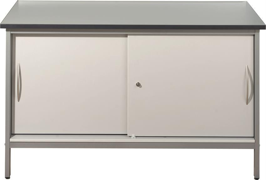 Mailroom Desk/Bench - Closed Cupboard