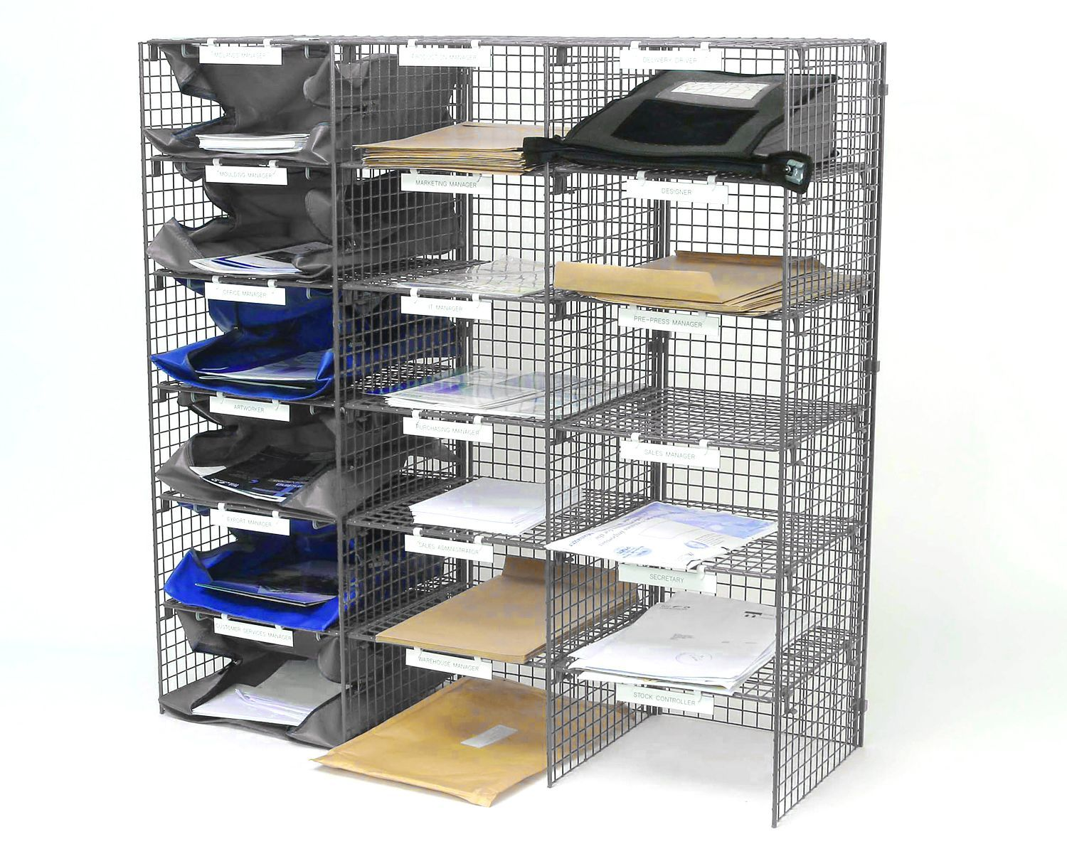 CLEARANCE - Mailsort Frame Unit - 18 Compartments