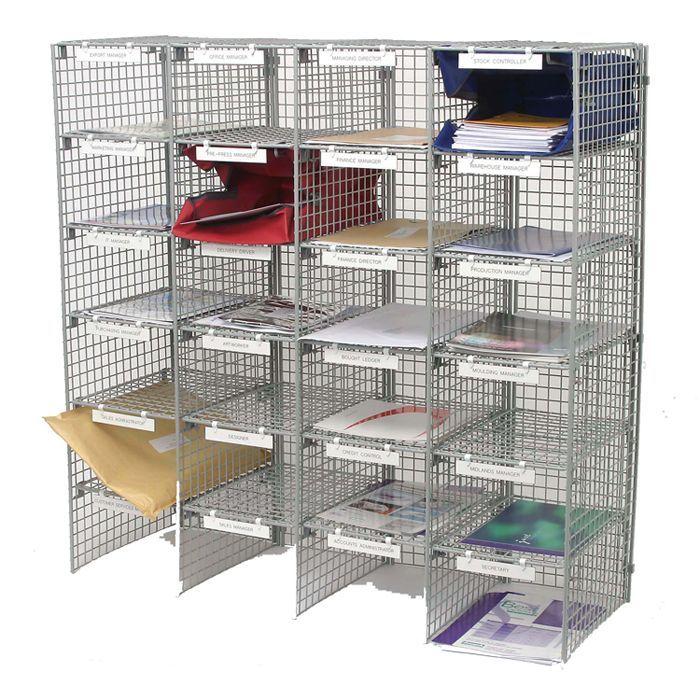 Mailsort Frame Unit - 24 Compartments