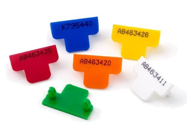 Numbered T-Seal Tamper Evident Security Seals