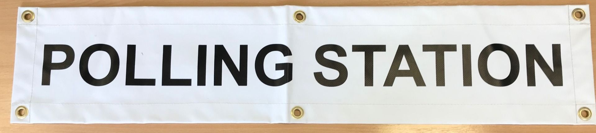 Electoral Polling Station Sign