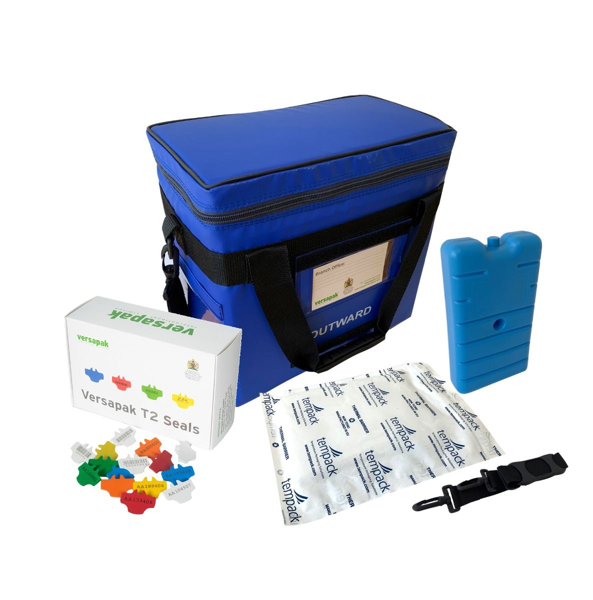 Small Insulated Medical Carrier Thermal Bundle - Pathology