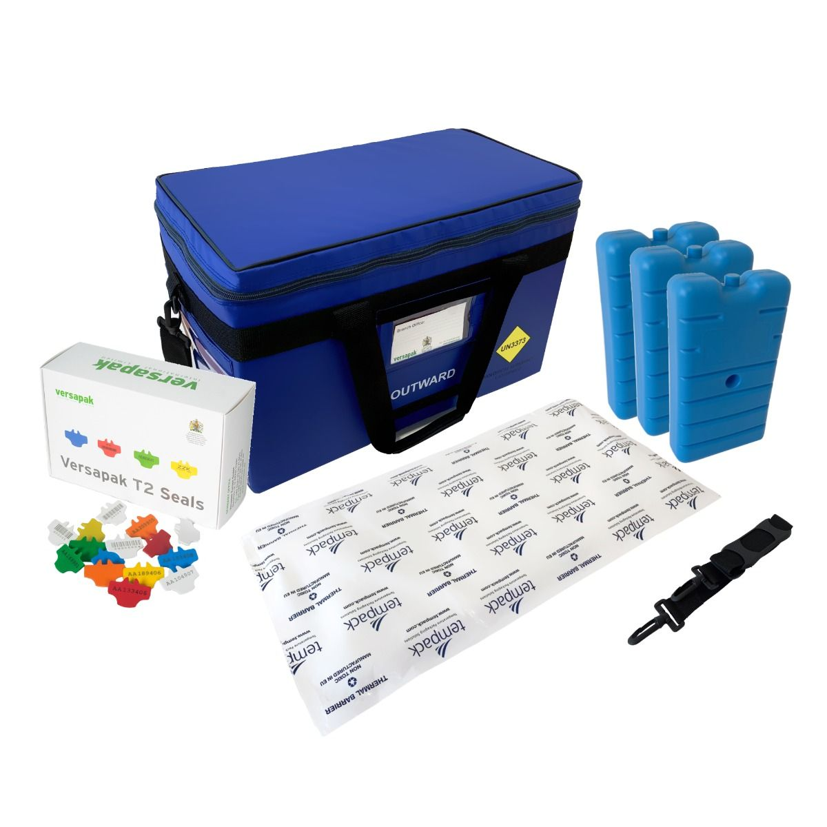 Medium Insulated Medical Carrier Thermal Bundle