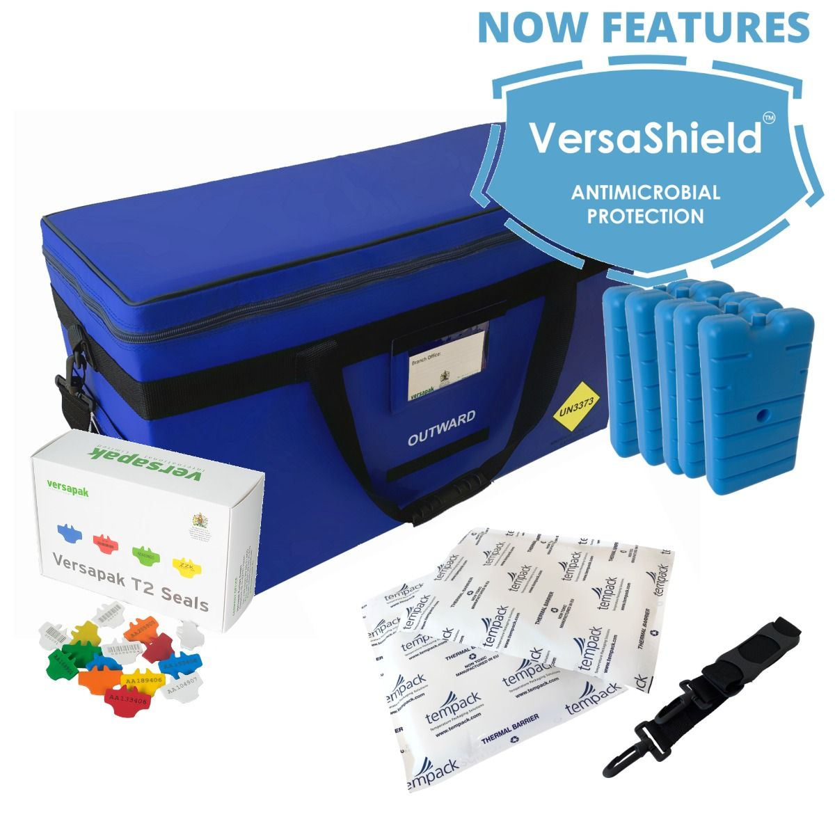 Large Insulated Medical Carrier Thermal Bundle