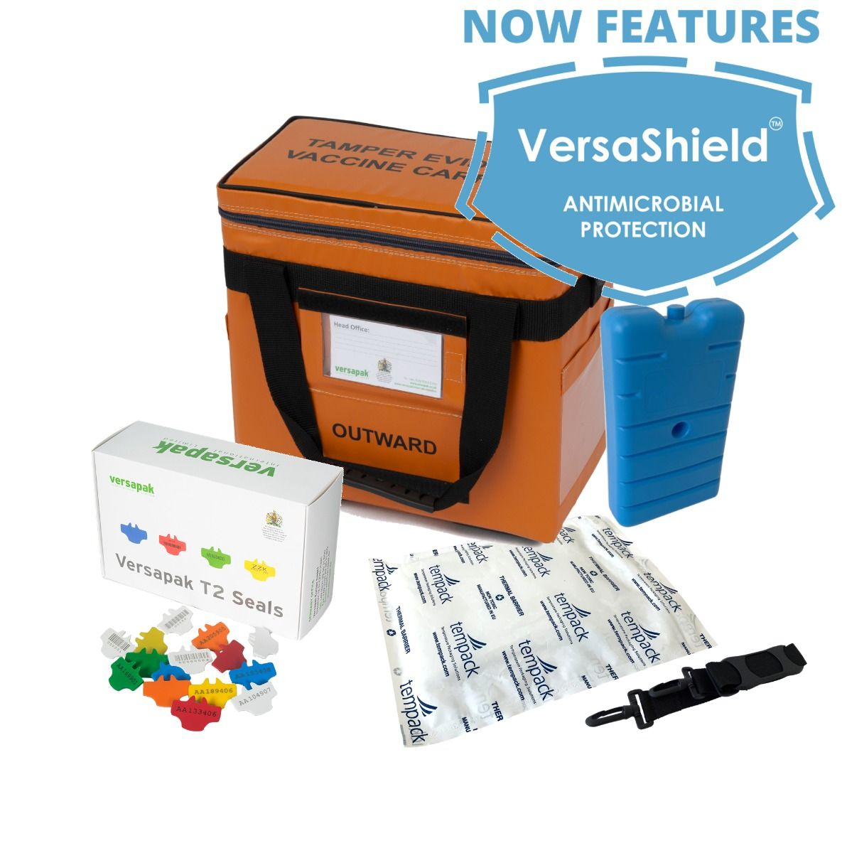 Small Insulated Medicine Carrier Thermal Bundle - Vaccines