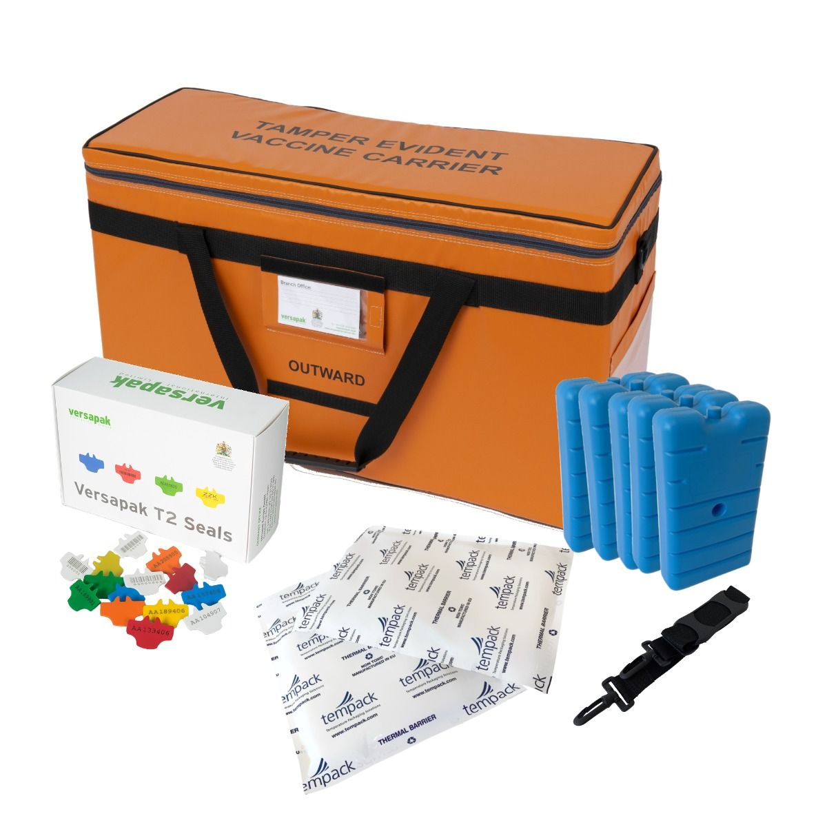 Large Insulated Medicine Carrier Thermal Bundle - Vaccines