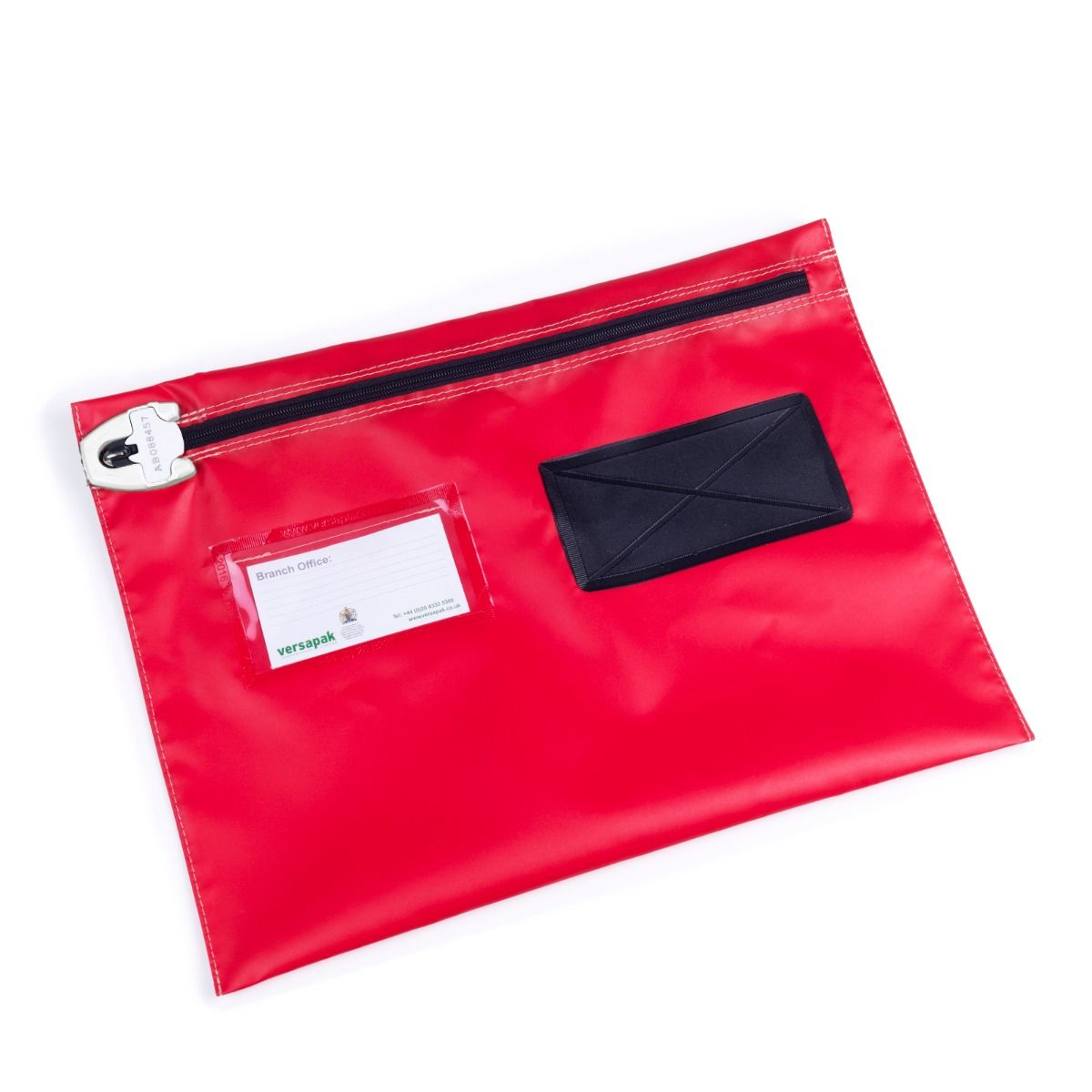 A4 Flat Document Wallet - Wide Opening