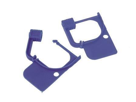Narrow Recess Security Lock - Fixed Length Cart Seal