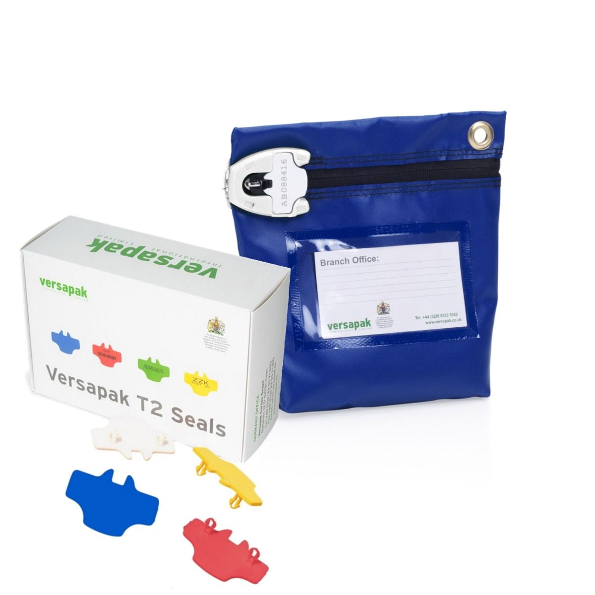 Small Cash Bag - Security Seals Bundle