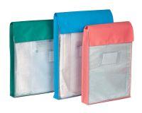 Large Reusable Internal Document Pouches - Gusset