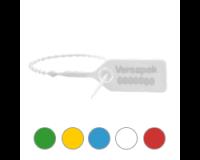 Versapak VersaLite+ Numbered Pull Tie Security Seal White