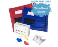 Small Flat Document Mailing Wallet - Security Seals Bundle