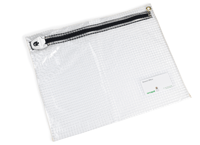 Medium clear personal effects security wallet