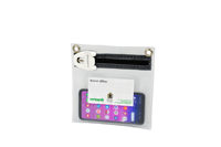 transparent mailing wallet for keys and items