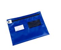 Flat Document Wallet VCF2 Blue