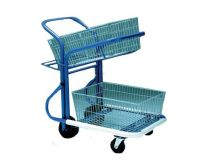 TILTING MAILROOM TROLLEY