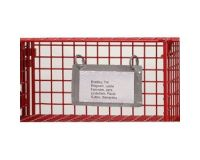 10 Pack Compartment Content List Holder - Mailsort Frames