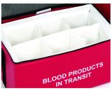 Padded Dividers 6 Compartments - Large Blood Bags