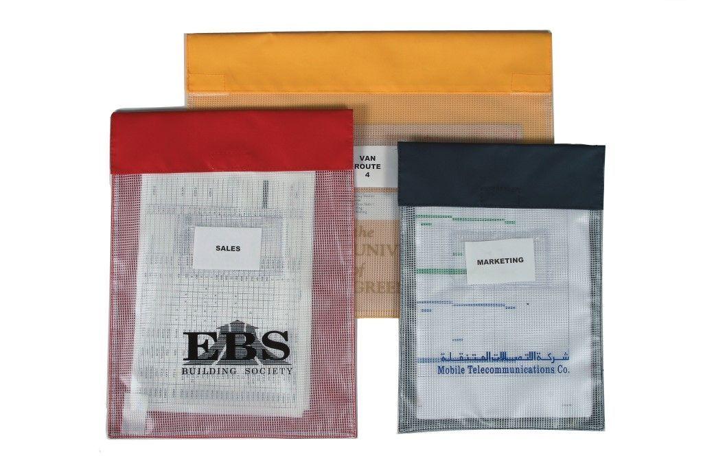 Medium Reusable Internal Document Pouches