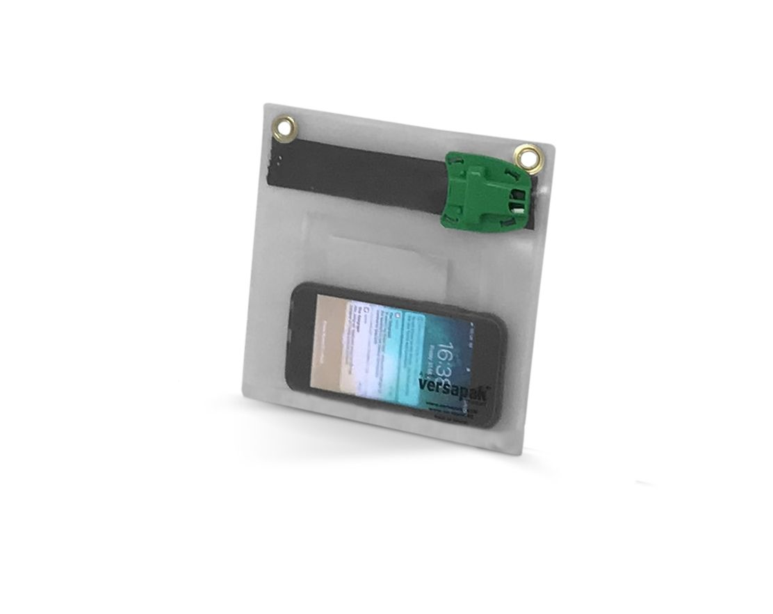 Transparent Mailing Wallet - Keys and Items