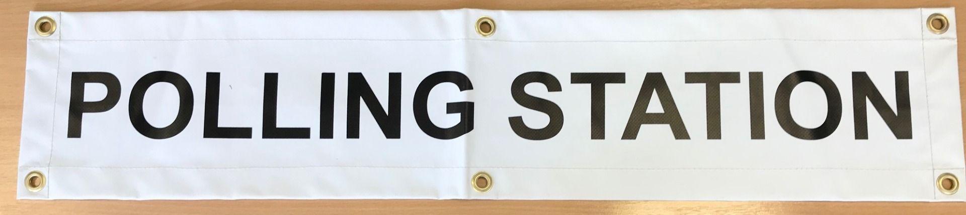 Electoral Polling Station Sign