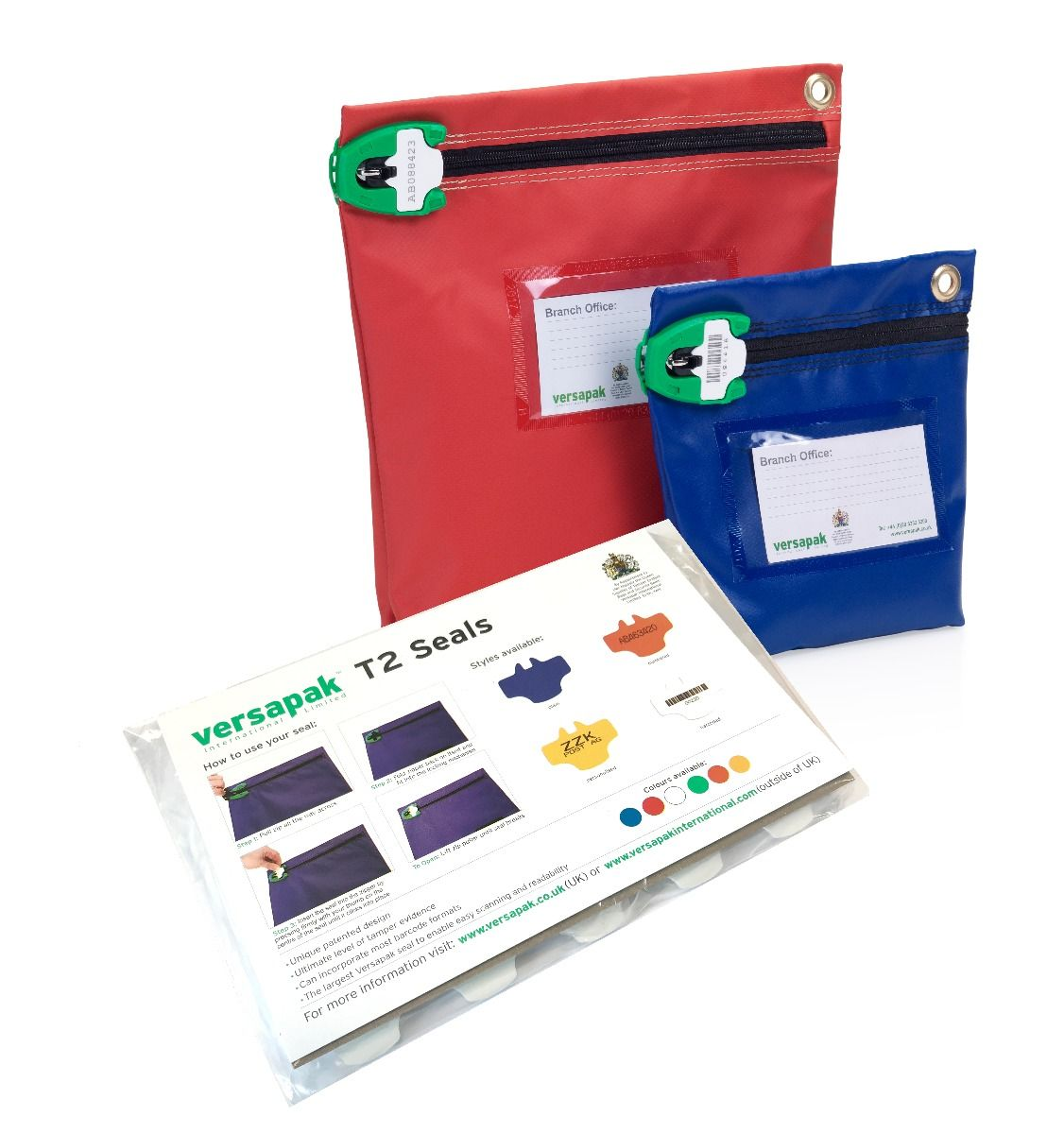 Medium Cash Bag - Security Seals Starter Kit