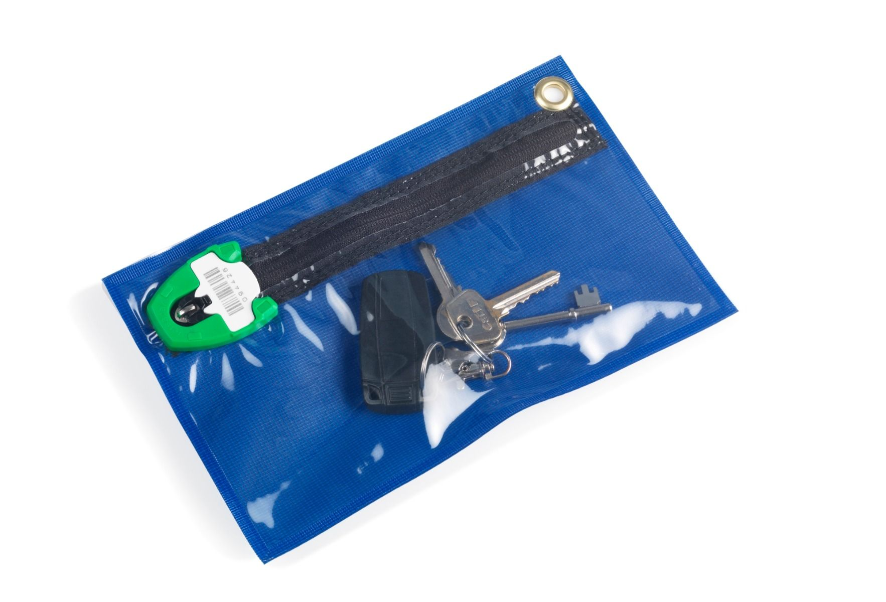 Key Storage Wallet - Clear Fronted
