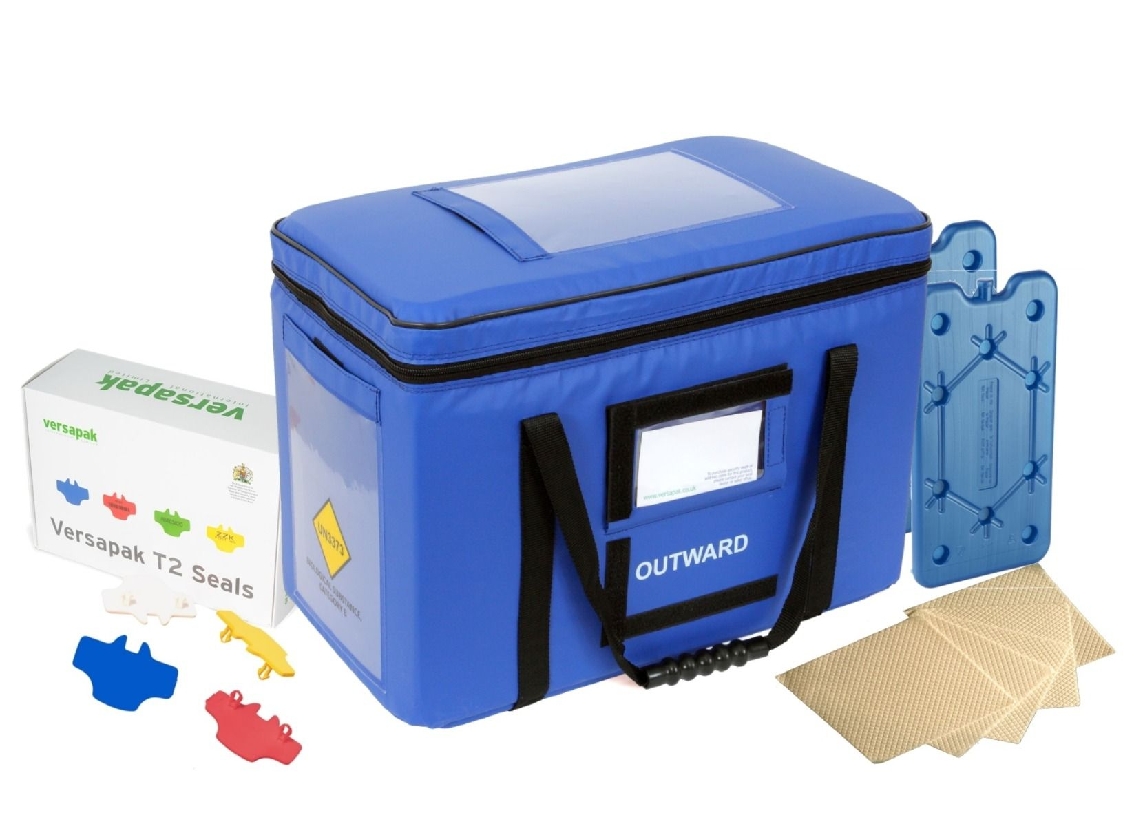 Large Insulated Medical Carrier Thermal Bundle - Pathology