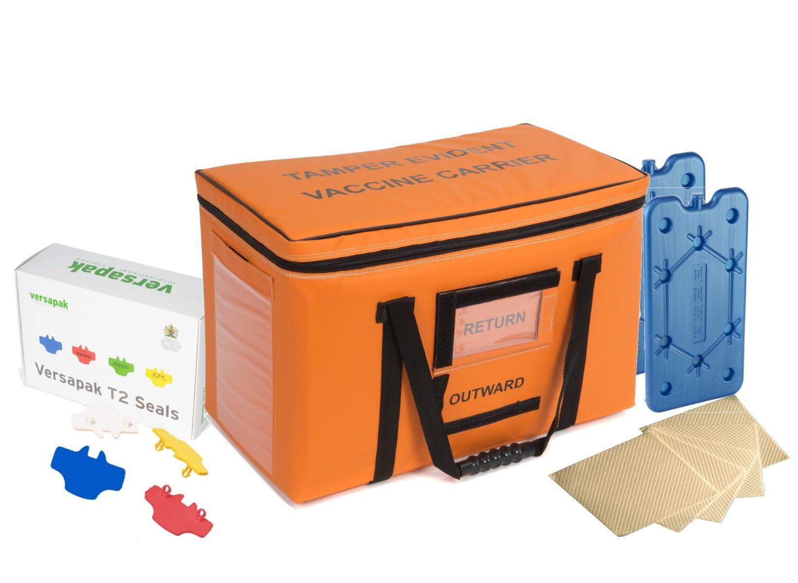 Medium Insulated Medicine Carrier Thermal Bundle - Vaccines