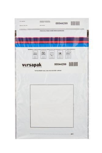 Large Single-Use Tamper Evident Security Envelopes - Pack of 500