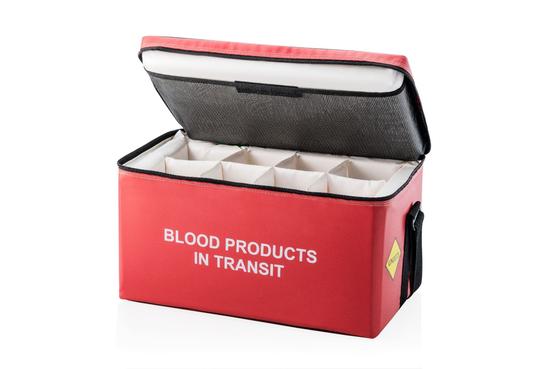 Padded Dividers 8 Compartments - Large Blood Bags