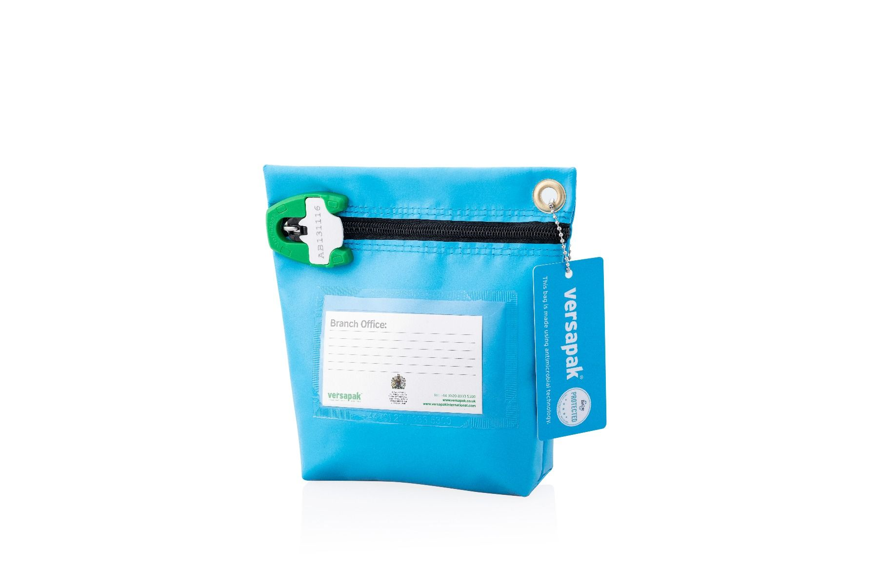 Small Secure Cash Bag - Antimicrobial Protection