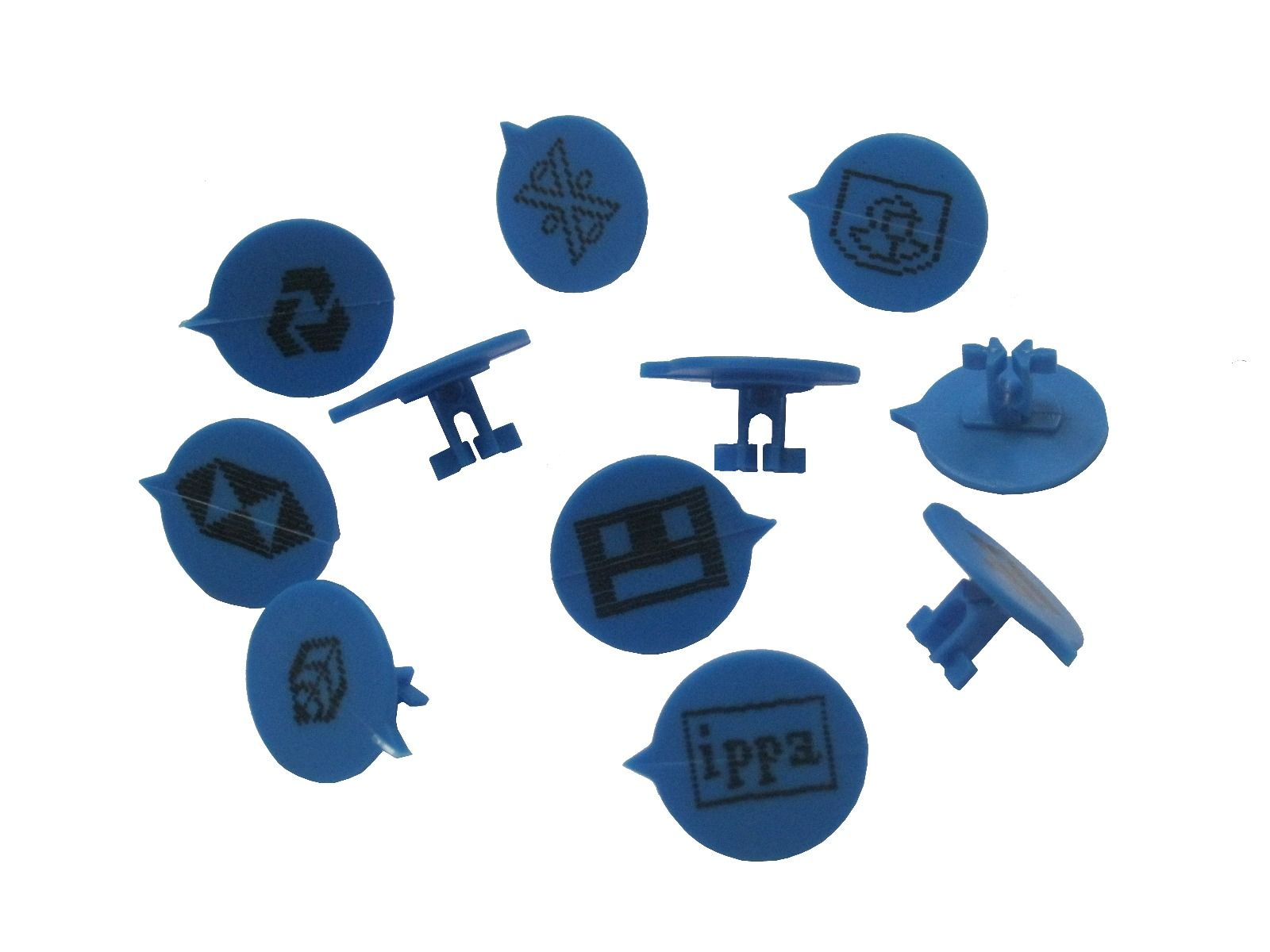 Personalised Tamper Evident Button Security Seals