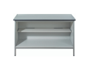 Mailroom Desk/Bench - Open Cupboard