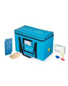 Versapak Antimicrobial, Tamper Evident, medical carrier for specimens, vaccines, drugs and tissue