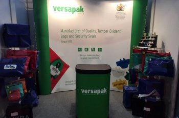 Versapak Exhibit at the UK Security Show 2017, London Olympia
